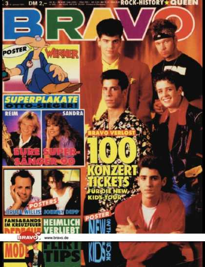 Bravo - 03/91, 10.01.1991 - New Kids on the Block - Depeche Mode