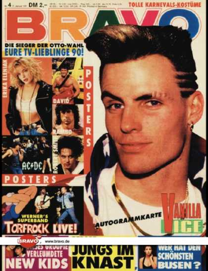 Bravo - 04/91, 17.01.1991 - Vanilla Ice - New Kids on the Block - Torfrock