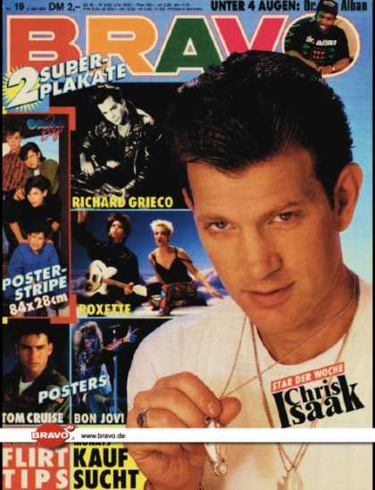 Bravo - 19/91, 02.05.1991 - Chris Isaak - Dr. Alban