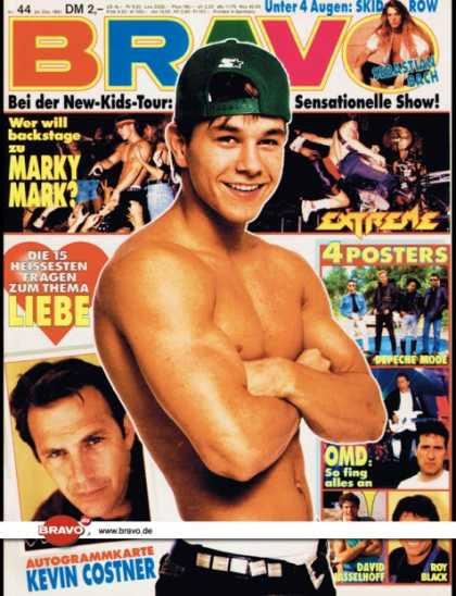 Bravo - 44/91, 24.10.1991 - Marky Mark - New Kids on the Block - Skid Row