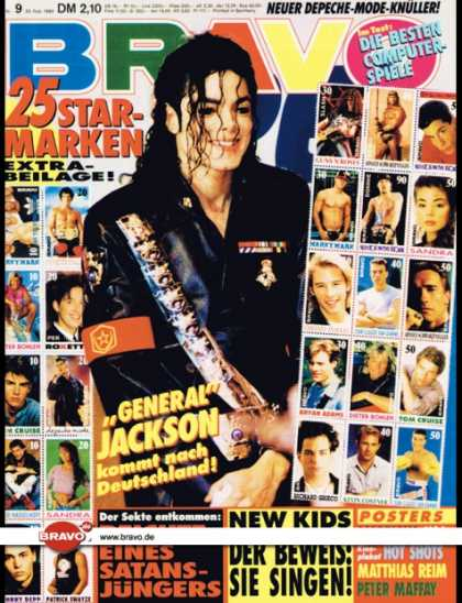 Bravo - 09/92, 20.02.1992 - Michael Jackson - New Kids on the Block