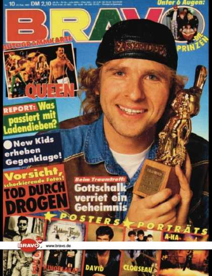 Bravo - 10/92, 27.02.1992 - Thomas Gottschalk - New Kids on the Block - Die Prinzen