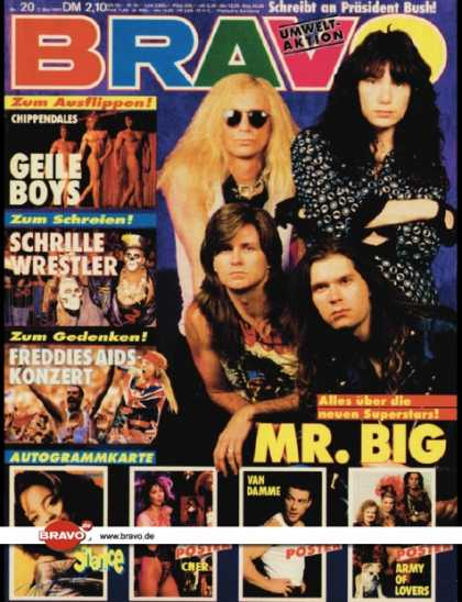 Bravo - 20/92, 07.05.1992 - Mr. Big - Freddie Mercury - Die Chippendales
