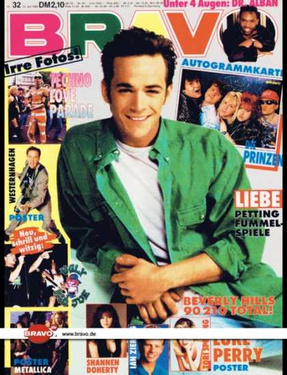 Bravo - 32/92, 30.07.1992 - Luke Perry (Beverly Hills 90210) - Dr. Alban