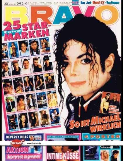 Bravo - 12/93, 18.03.1993 - Michael Jackson - Beverly Hills 90210 (TV Serie)