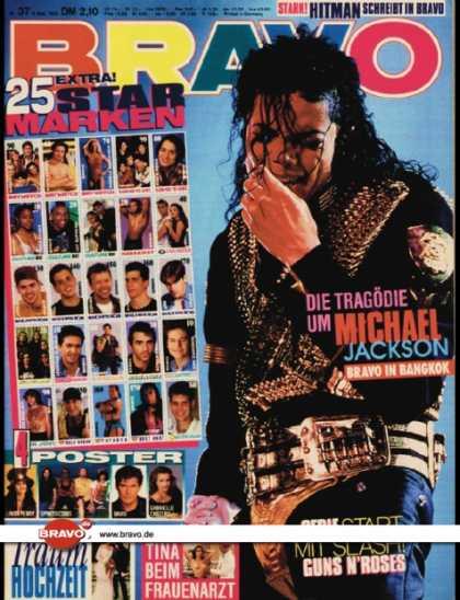 Bravo - 37/93, 09.09.1993 - Michael Jackson
