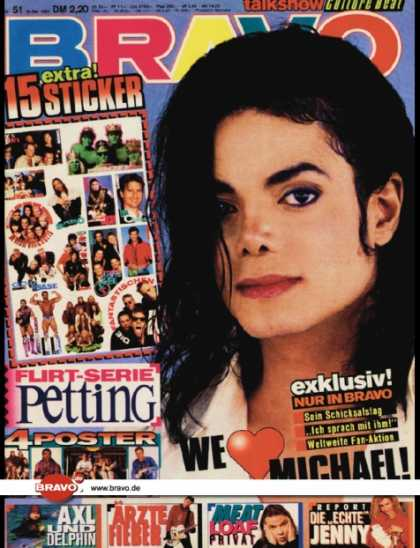 Bravo - 50/93, 16.12.1993 - Michael Jackson - Axl Rose (Guns N' Roses) - Die Ärzte -