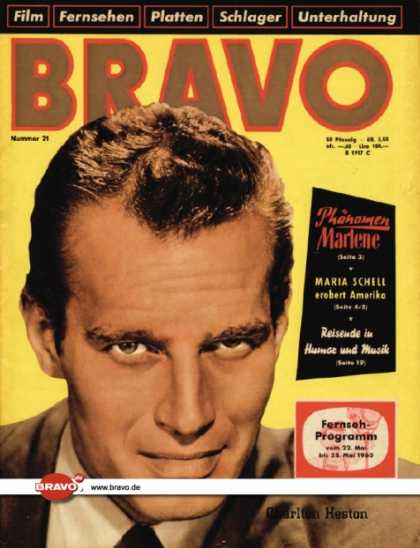 Bravo - 21/60, 17.05.1960 - Charlton Heston