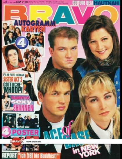 Bravo - 08/94, 17.02.1994 - Ace of Base - Whoopi Goldberg, (Sister Act 2, Film) - Shanne