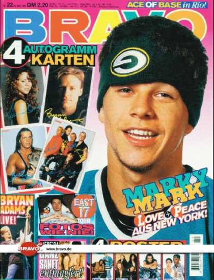 Bravo - 22/94, 01.06.1994 - Marky Mark - Bryan Adams - East 17 -