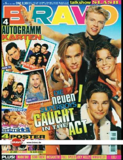 Bravo - 05/95, 26.01.1995 - Caught In The Act -