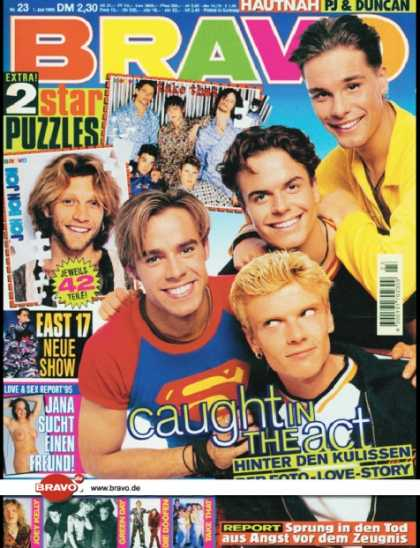 Bravo - 23/95, 01.06.1995 - Caught In The Act - East 17 -