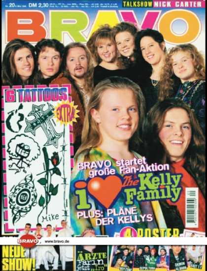 Bravo - 20/96, 09.05.1996 - Kelly Family - Caught in the Act - Farin Urlaub (Die Ärz