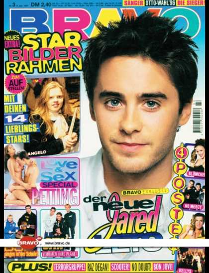 Bravo - 03/97, 09.01.1997 - Jared Leto - Angelo Kelly (Kelly Family) - Backstreet Boys -
