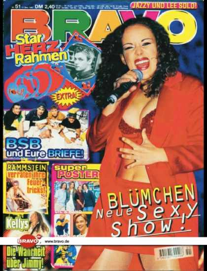 Bravo - 51/97, 11.12.1997 - Blümchen - Backstreet Boys - Rammstein - Jimmy Kelly (Kel