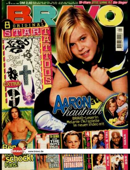 Bravo - 05/98, 29.01.1998 - Aaron Carter - Benjamin Boyce (Caught In The Act) - The Boyz
