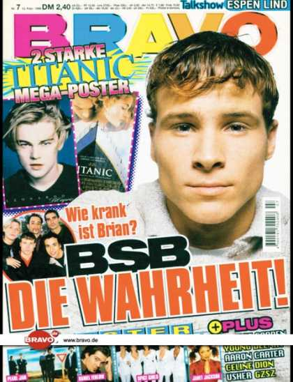 Bravo - 07/98, 12.02.1998 - Brian Littrell (Backstreet Boys) - -