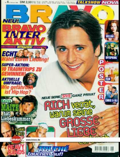 Bravo - 06/99, 04.02.1999 - Richard Neville (5ive) - Echt - Maite Kelly (Kelly Family) -