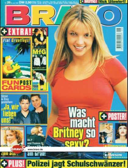 Bravo - 26/99, 24.06.1999 - Britney Spears - Steve & Eloy de Jong (Caught In The Act) -