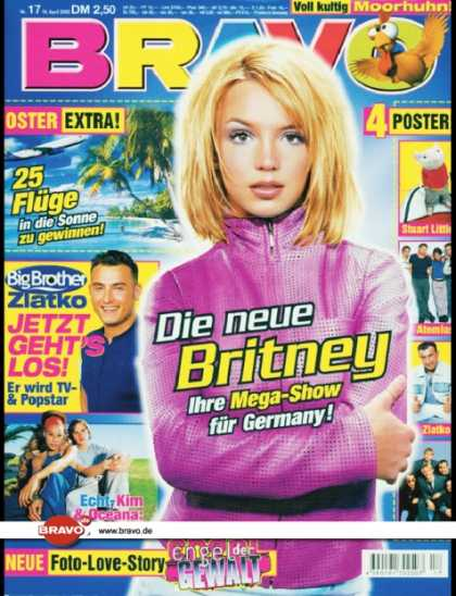 Bravo - 17/00, 18.04.2000 - Britney Spears - Zlatko Trpkovski (Big Brother, TV Show) - K