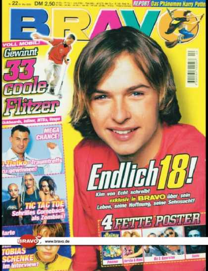 Bravo - 22/00, 23.05.2000 - Kim Frank (Echt) - Zlatko Trpkovski (Big Brother, TV Show)
