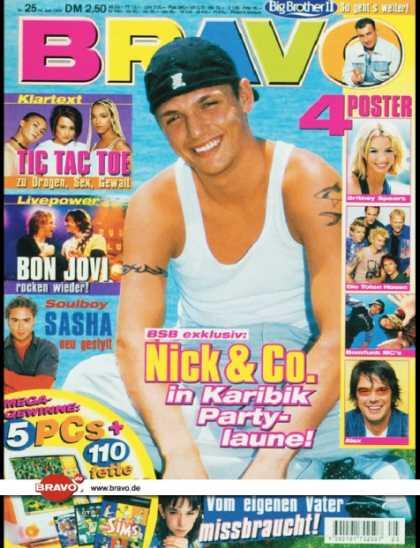 nick carter 1999