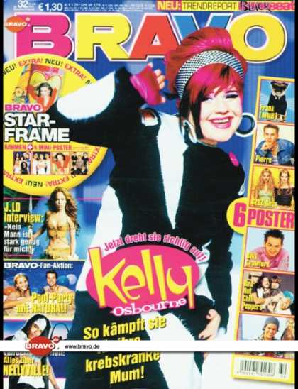 Bravo - 32/02, 31.07.2002 - Kelly Osbourne - Jennifer Lopez - Natural - Nelly -