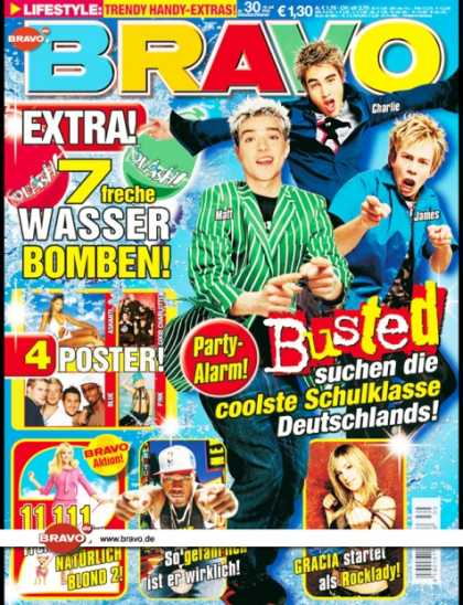 Bravo - 30/03, 16.07.2003 - Busted - Reese Witherspoon (Natürlich Blond, Film) - 50 C
