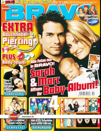 Bravo - 10/04, 25.02.2004 - Sarah Connor, Marc Terenzi & Baby Tylor - Evernescence - Jea