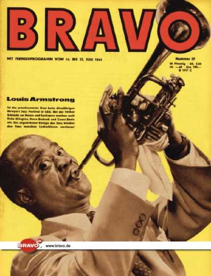 Bravo - 29/61, 11.07.1961 - Louis Armstrong