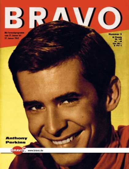 Bravo - 03/62, 16.01.1962 - Anthony Perkins