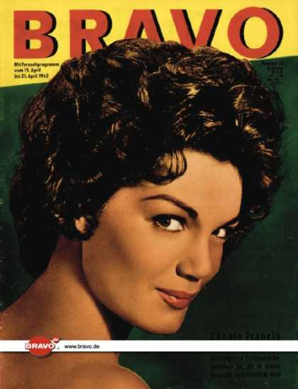 Bravo - 15/62, 10.04.1962 - Connie Francis
