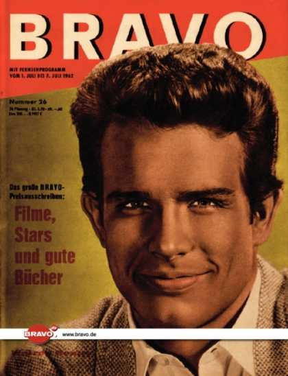 Bravo - 26/62, 26.06.1962 - Warren Beatty