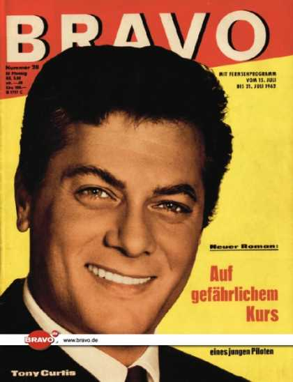 Bravo - 28/62, 10.07.1962 - Tony Curtis