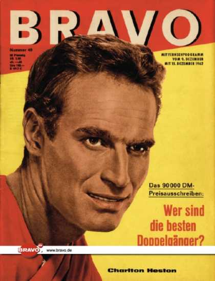 Bravo - 49/62, 04.12.1962 - Charlton Heston