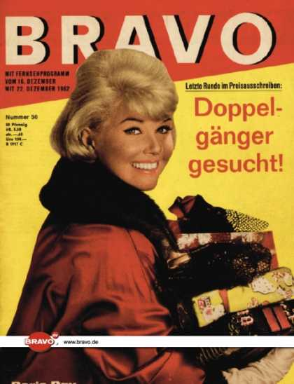 Bravo - 50/62, 11.12.1962 - Doris Day