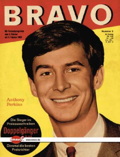 Bravo - 05/63, 29.01.1963 - Anthony Perkins