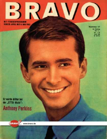 Bravo - 17/63, 23.04.1963 - Anthony Perkins