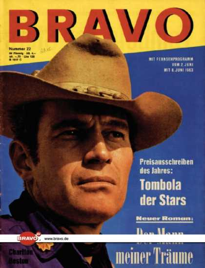 Bravo - 22/63, 28.05.1963 - Charlton Heston