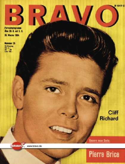 Bravo - 35/64, 25.08.1964 - Cliff Richard