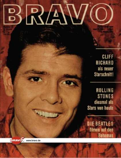 Bravo - 13/65, 23.03.1965 - Cliff Richard