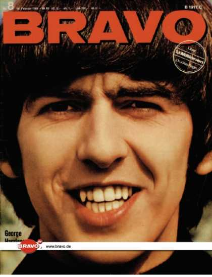 Bravo - 08/66, 14.02.1966 - George Harrison (Beatles)
