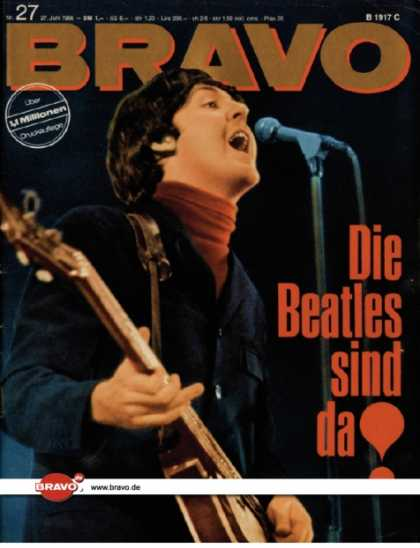Bravo - 27/66, 27.06.1966 - Paul McCartney (Beatles)