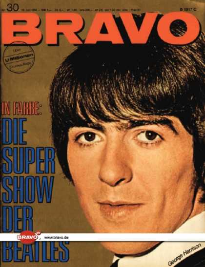 Bravo - 30/66, 18.07.1966 - George Harrison (Beatles)