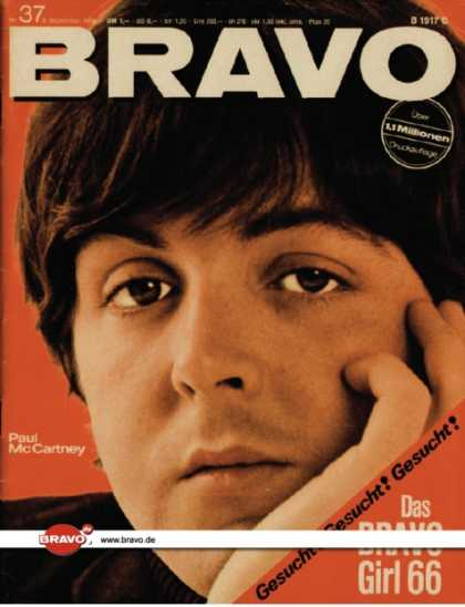Bravo - 37/66, 05.09.1966 - Paul McCartney (Beatles)