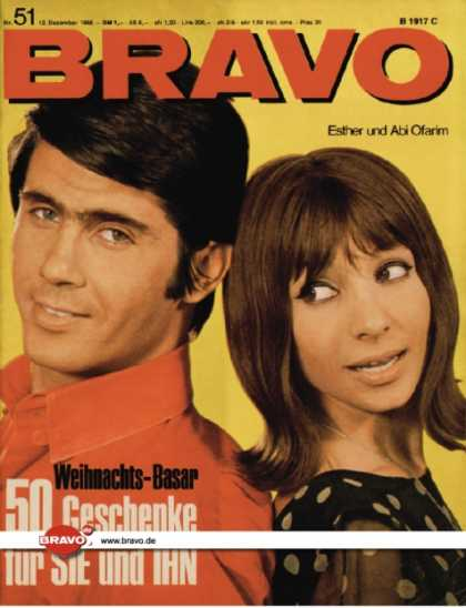 Bravo - 51/66, 12.12.1966 - Esther & Abi Ofarim
