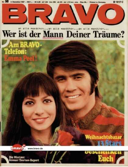 Bravo - 50/67, 04.12.1967 - Esther & Abi Ofarim