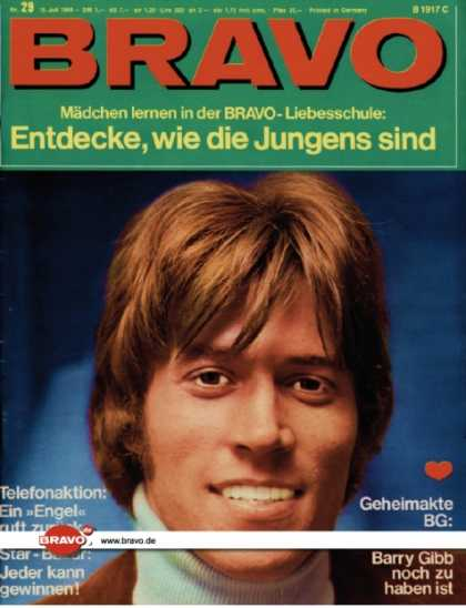 Bravo - 29/68, 15.07.1968 - Barry Gibb (Bee Gees)