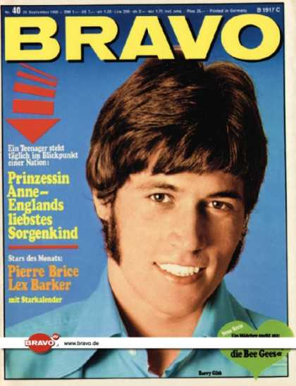 Bravo - 40/68, 30.09.1968 - Barry Gibb (Bee Gees)