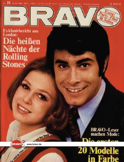 Bravo - 25/69, 16.06.1969 - Helga Anders & Roy Black